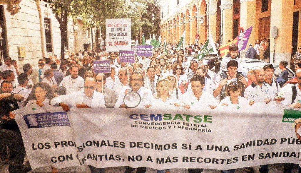 manifestación 2012