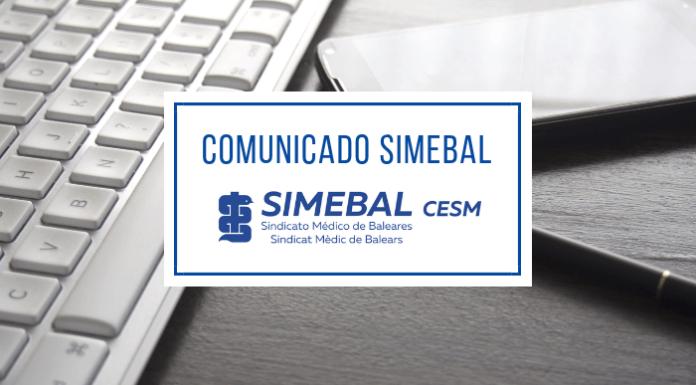 comunicado simebal ope medicina familia y pediatría