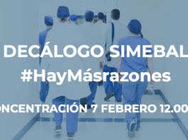 Decálogo reinvindicativo de SIMEBAL para concentración 7 de Febrero