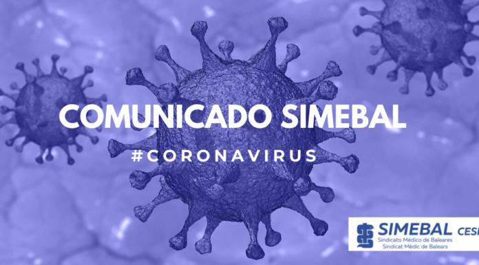 comunicado sindicato simebal coronavirus