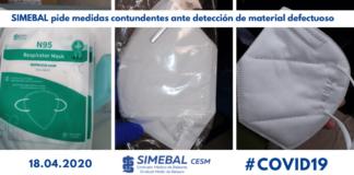 SIMEBAL pide medidas contundentes ante detección de material defectuoso