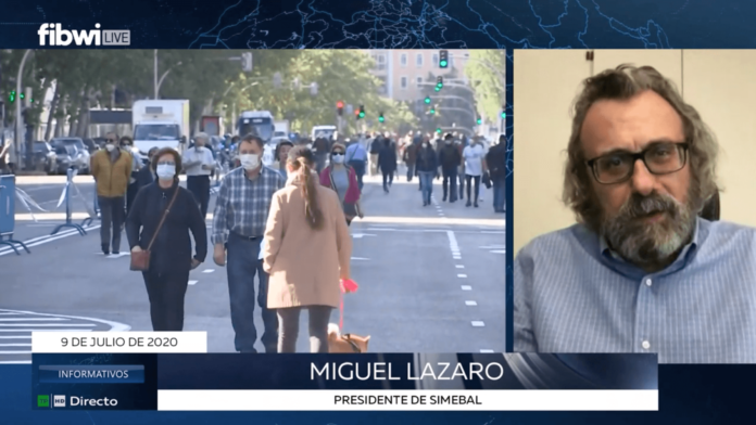 Miguel Lazaro en Fibwi. queremos que se resuelvan los agravios retributivos simebal